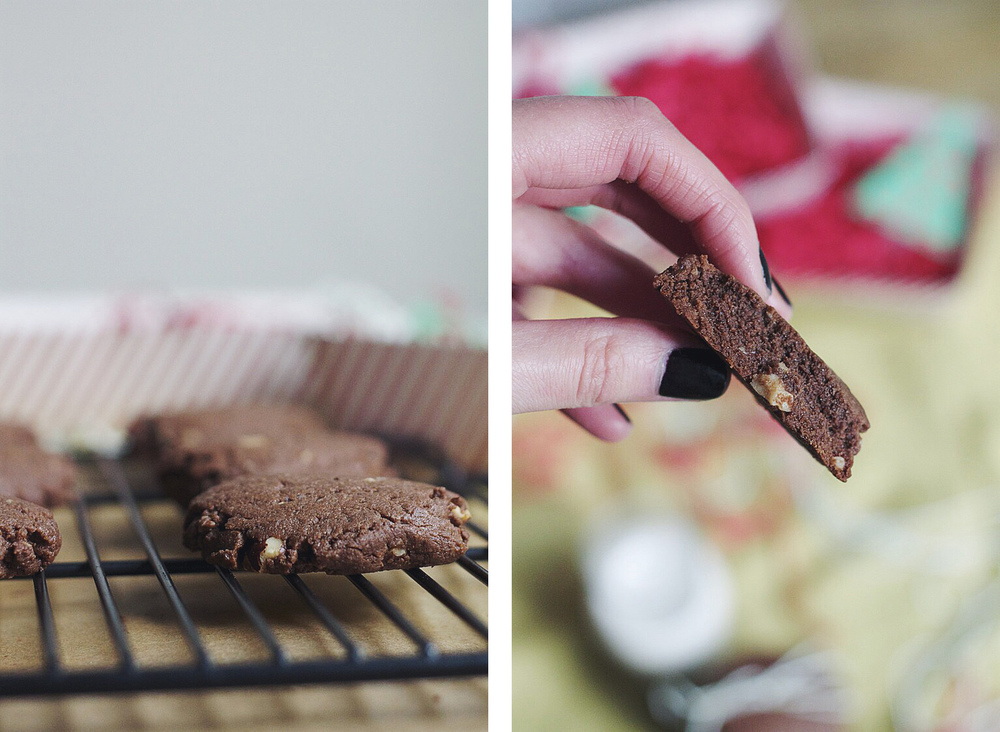 Flourless Chocolate Hazelnut Cookies #fbcookieswap #foodbymars #glutenfree