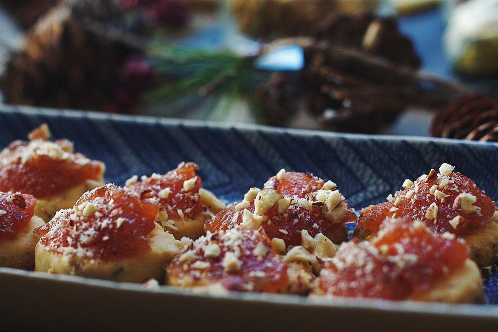 Rosemary Parmesan Shortbreads #foodbymars #glutenfree
