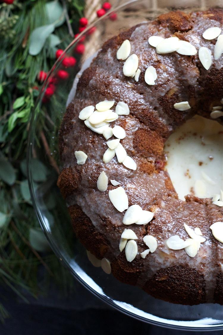 Gluten-free Cranberry Almond Cake for #Capricorn #glutenfree #dessert #foodbymars