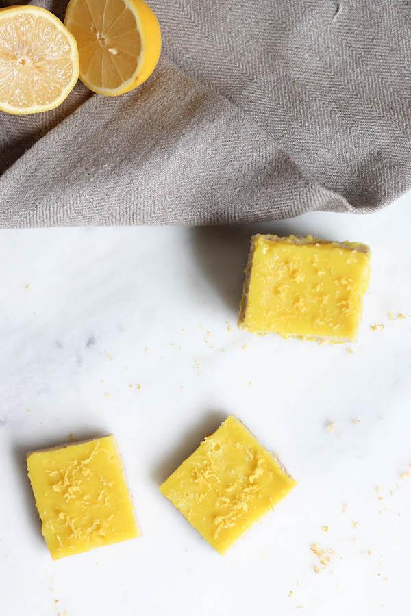 Vegan & GF No Bake Lemon Squares from Food by Mars