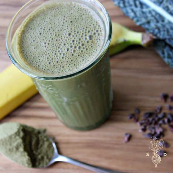 MORINGA GREEN SMOOTHIE by The Seasonal Diet