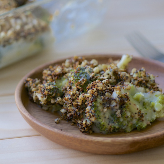 POPPY SEED BROCCOLI by Feasting on Fruit