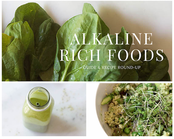 Alkaline Rich Foods (Guide & Recipe Round-up) from Food by Mars - gluten-free, vegan, vegetarian