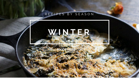 recipe by season - winter (via Food by Mars)