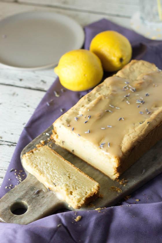 Gemini Birthday Post & Recipe: Lemon & Lavender 'Yogurt' Cake (lactose-free, gluten-free, vegan optional)