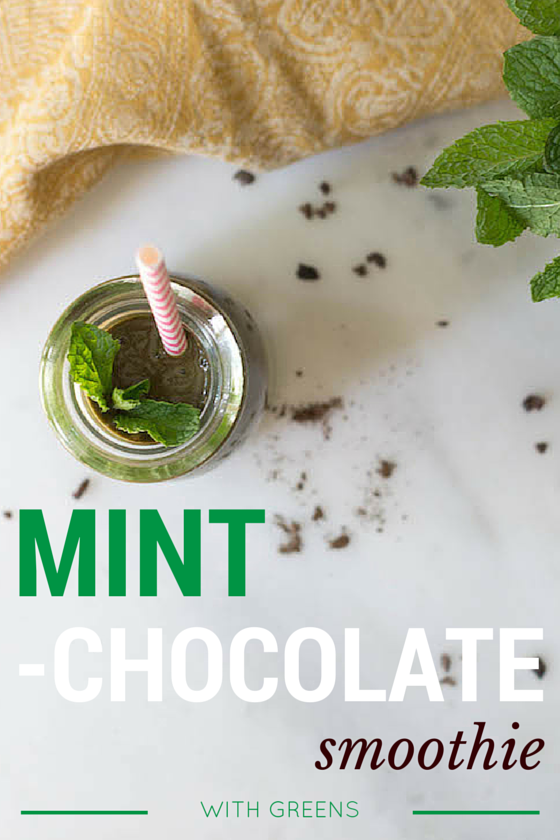 Mint Chocolate Smoothie with Greens from Food by Mars (Vegan, Gluten-free)