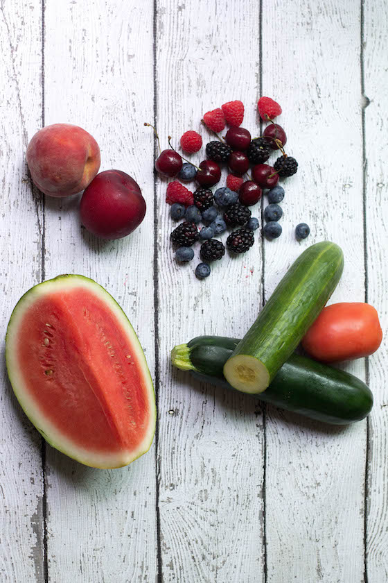 Summer Produce Guide via Food by Mars