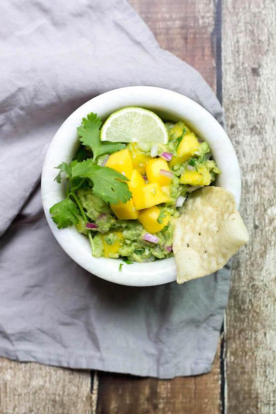 5-Ingredient Mango Guacamole via Food by Mars (vegan)