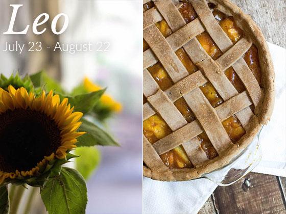 Leo Birthday Post & Recipe: Spiced Peach Pie (vegan & gluten-free) via Food by Mars