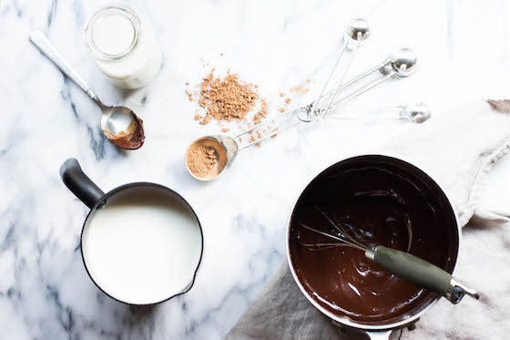 Super Hot Cocoa with Maca (dairy-free, vegan) via Food by Mars