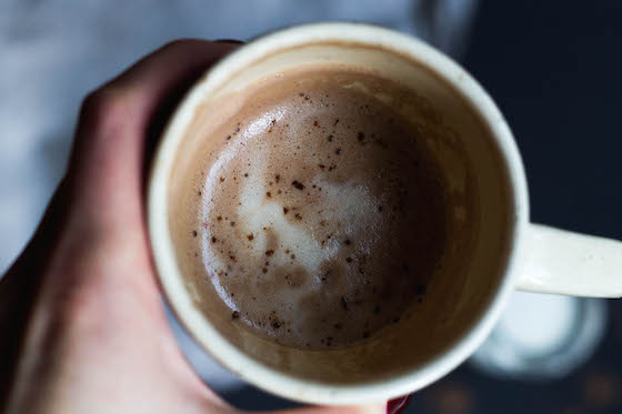 Hot Cocoa and other festive drinks via Food by Mars