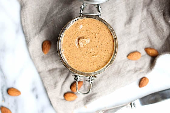 Easy Homemade Almond Butter via Food by Mars