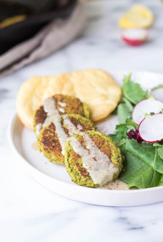 Grain-free Falafel Platter via Food by Mars