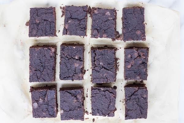 Squash Brownies (paleo, lightly sweetened) via Food by Mars