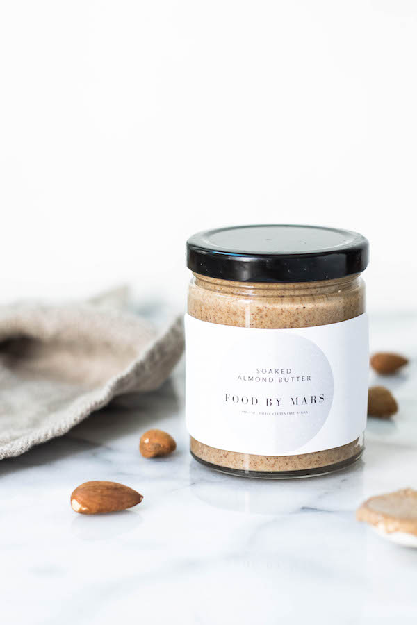 Soaked Almond Butter via Food by Mars
