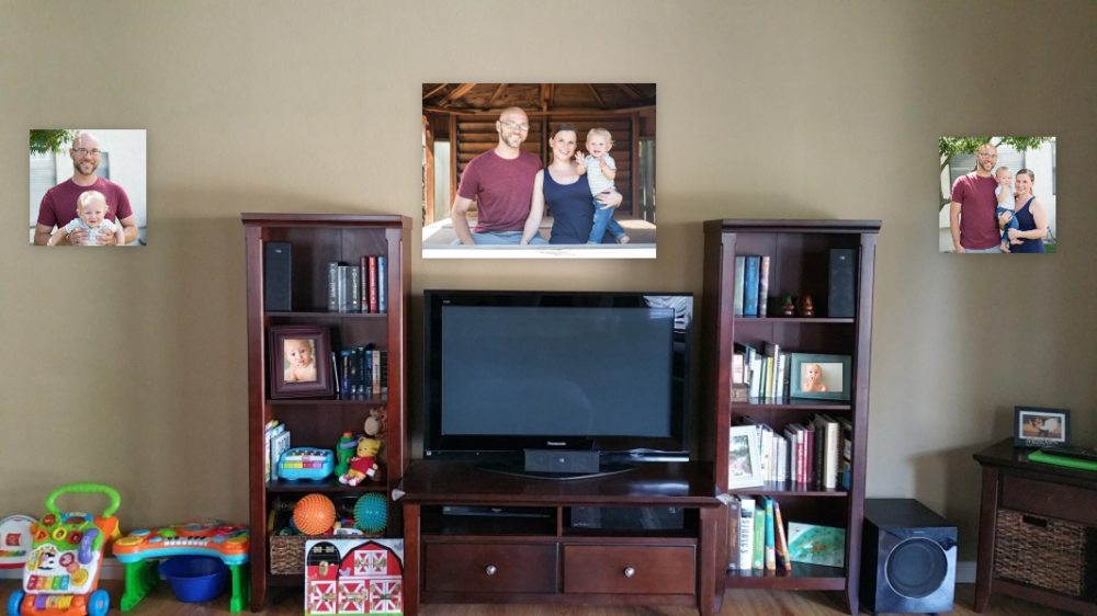 Mays Family Wall Art Display