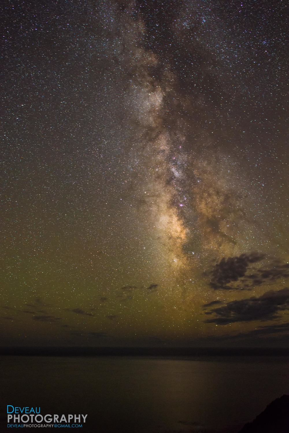 Milky Way over the Pacific