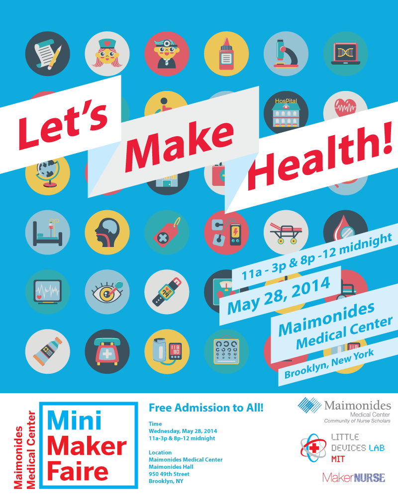Maimonides Medical Center Mini Maker Faire, May 2014 — NYC