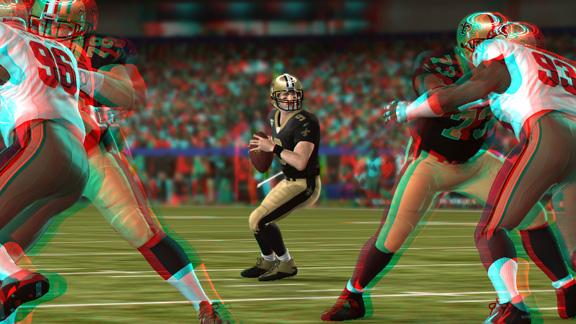 3D mode in Madden NFL 11, unlockable only through a bag of Doritos.
