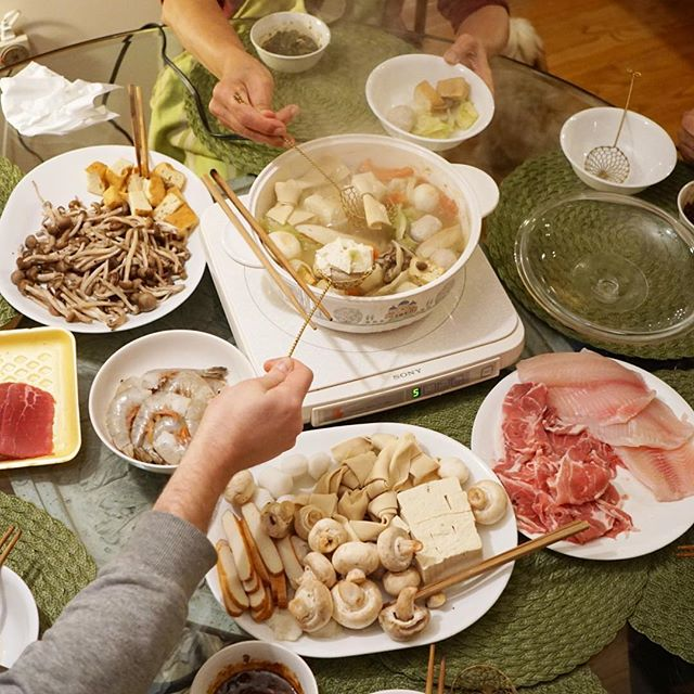 That spread tho. #hotpot #🍲