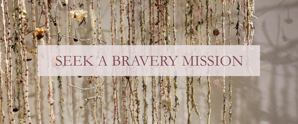BRAVERY MISSION KATEWORKS KATE LAING
