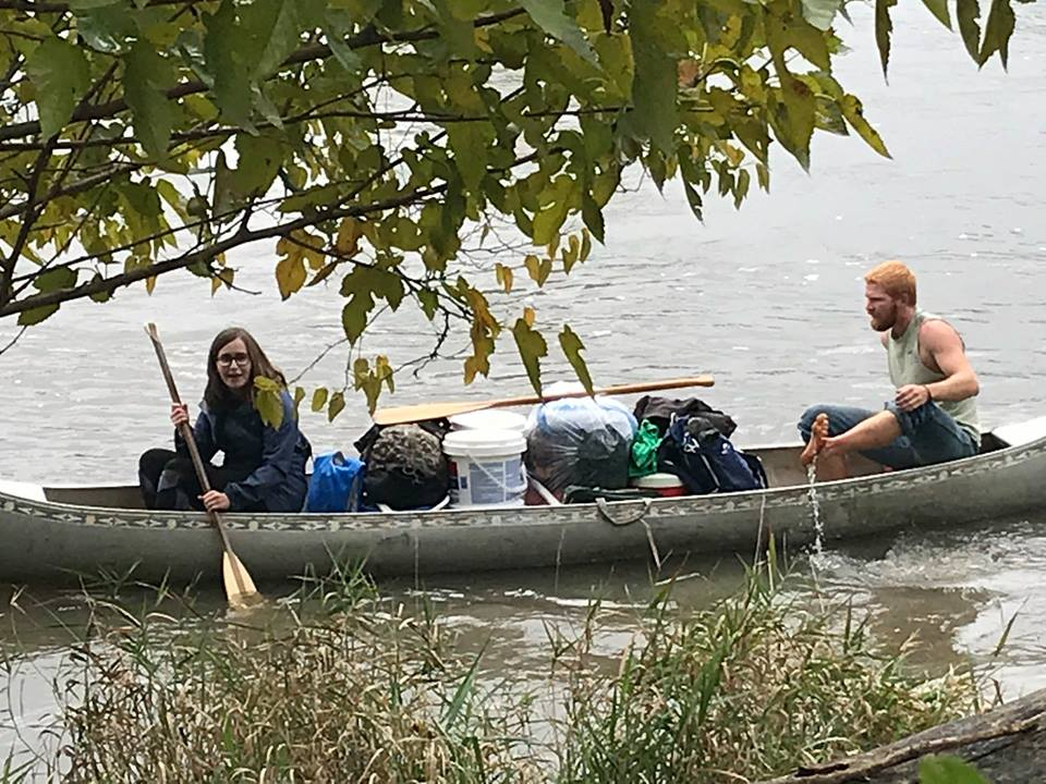 2018 year in review canoe trip