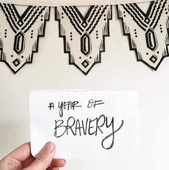 a year of bravery kateworks kate laing