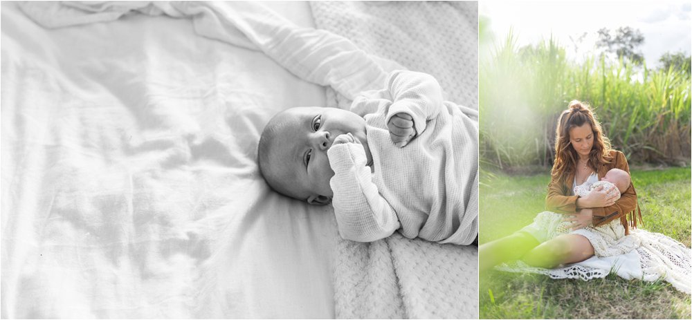 Images of newborn Tippi in Yamba, Australia