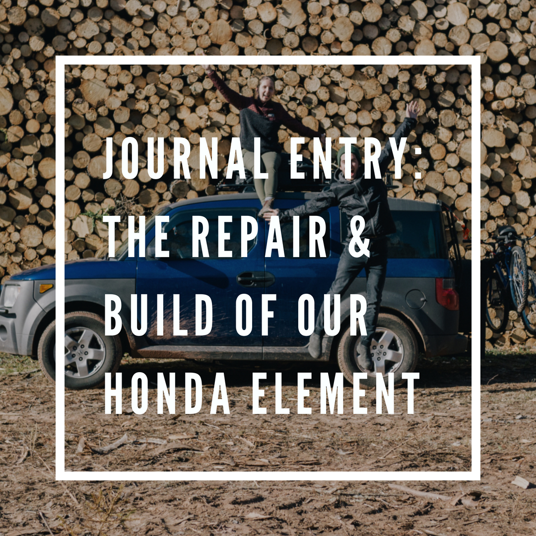 Honda Element Van Build Frontier Collective