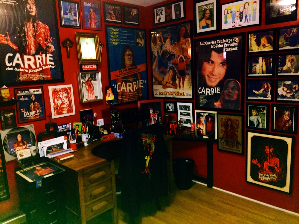"Jackie's ""Carrie"" room."
