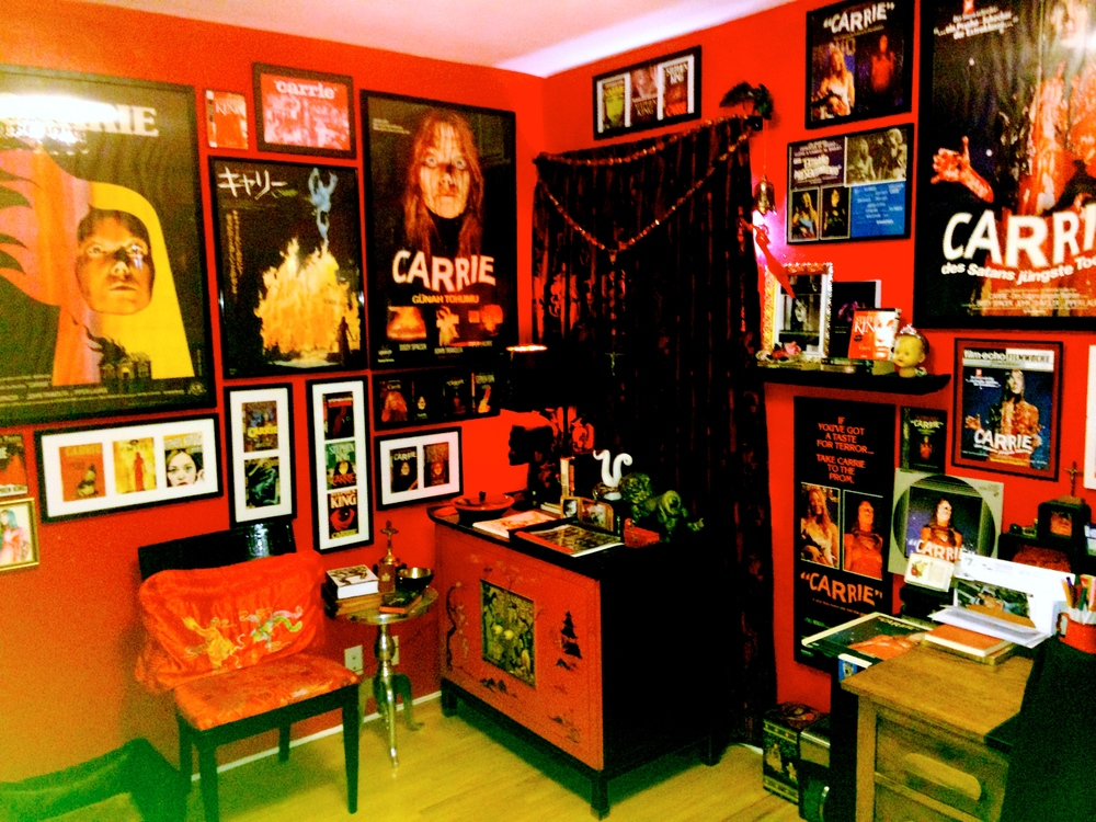 "Jackie's ""Carrie"" room"