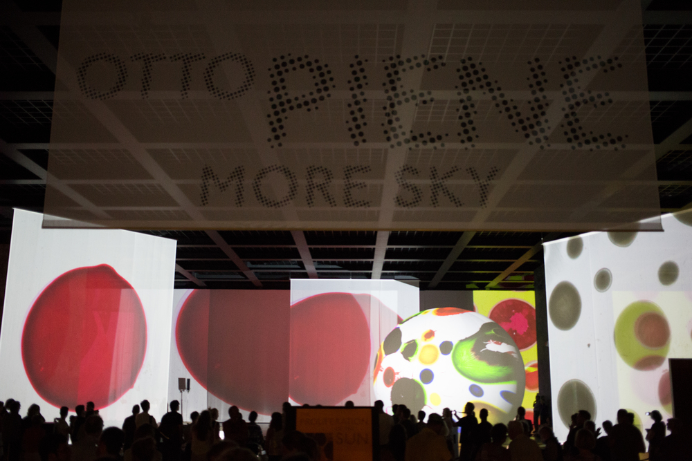 Otto Piene Installation at the Neuenational Galerie Berlin
