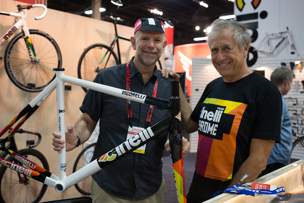 Uncle Jess and Antonio Colombo of Cinelli