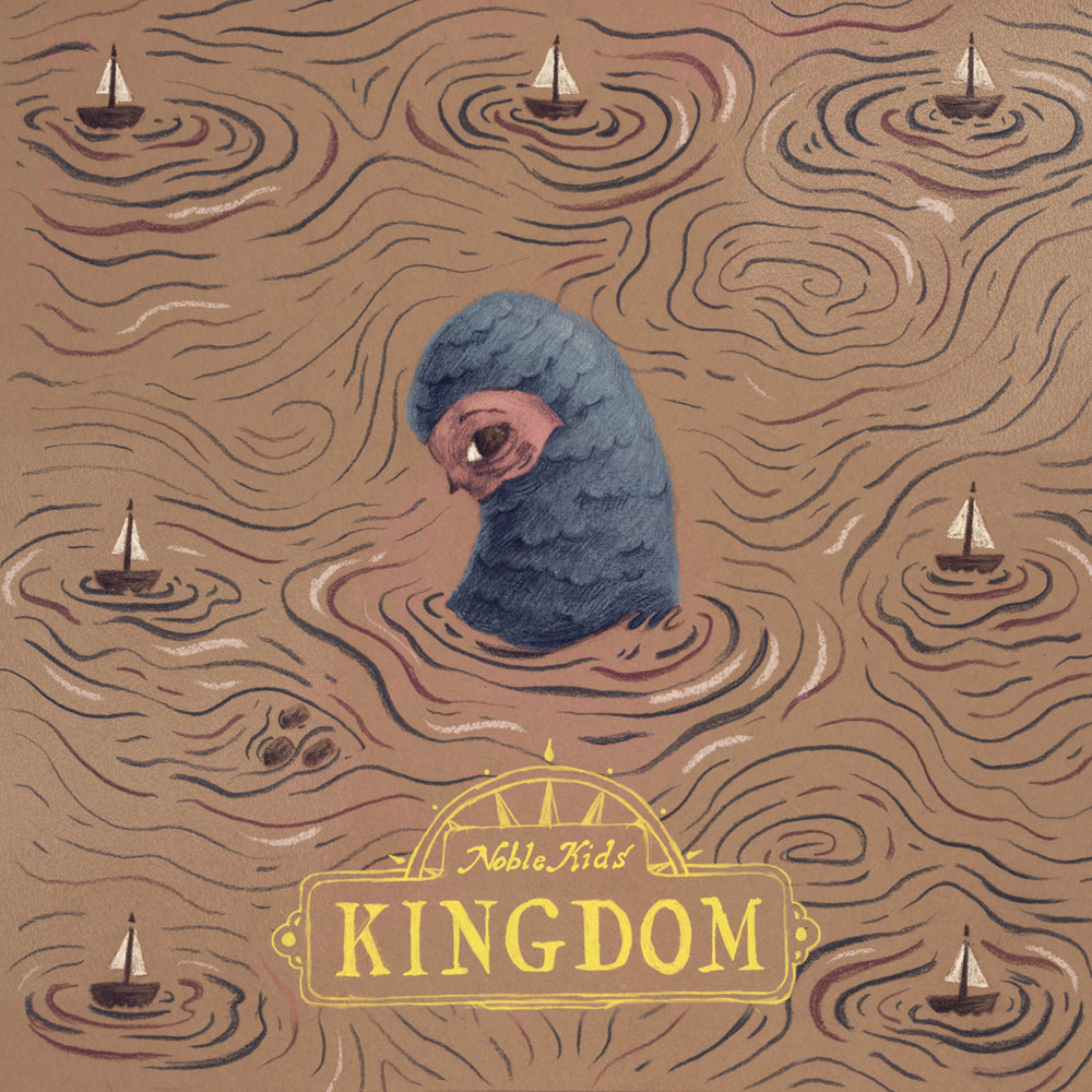 KINGDOM album cover comissioned by NOBLE KIDS.