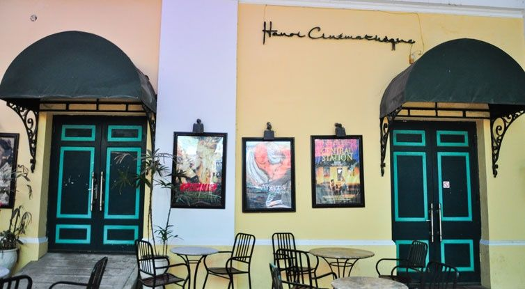 The Hanoi Cinematheque, located at 22 Hai Ba Trung down a long alleyway, is likely the only cinema of its kind in Vietnam. It has a nice courtyard cafe where you can get a beverage before or after your film (or to take into the film with you).