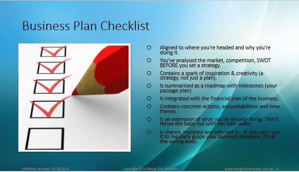lean business planning board associates