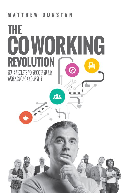 """The Coworking Revolution"" can be pre-ordered  here."