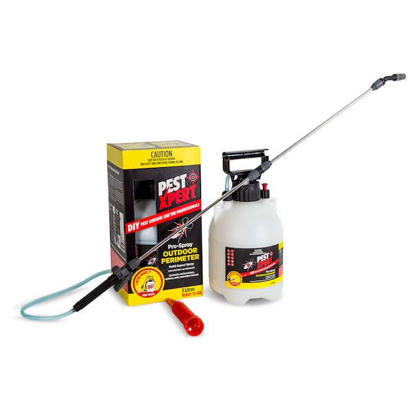PestXpert Pro-Spray Outdoor is the only ready to use pump pack on the pest control market and has a 1m spray wand for accurate a safe spraying.