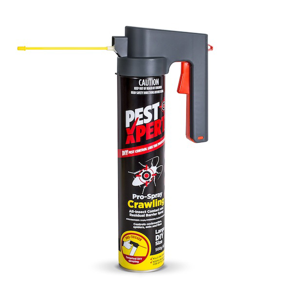 PestXpert pro-crawling Extendable nozzle for spraying food cupboards, cracks and crevices to provide long lasting protection from larvae