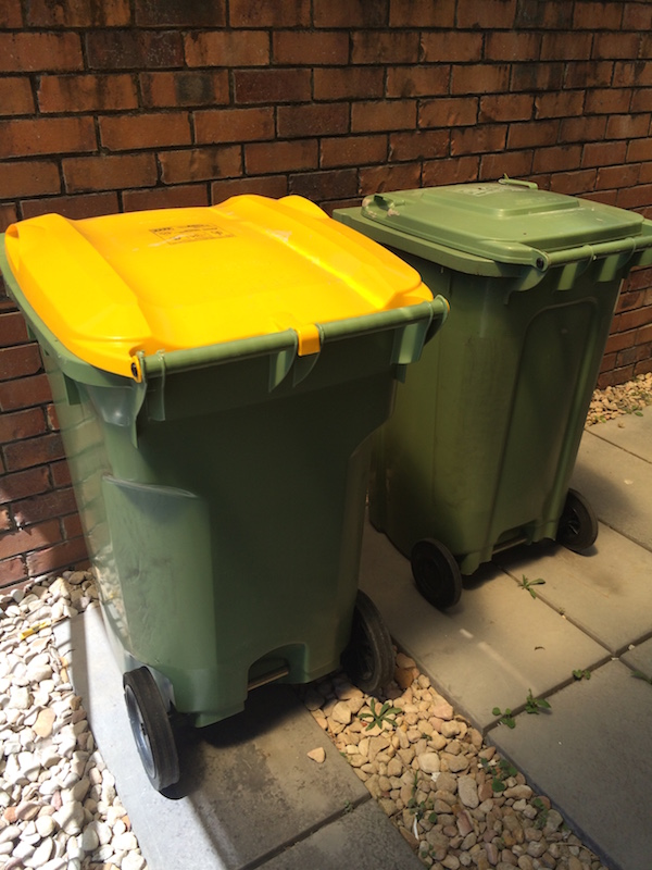 Ensure rubbish is placed in sealed bins away from the house