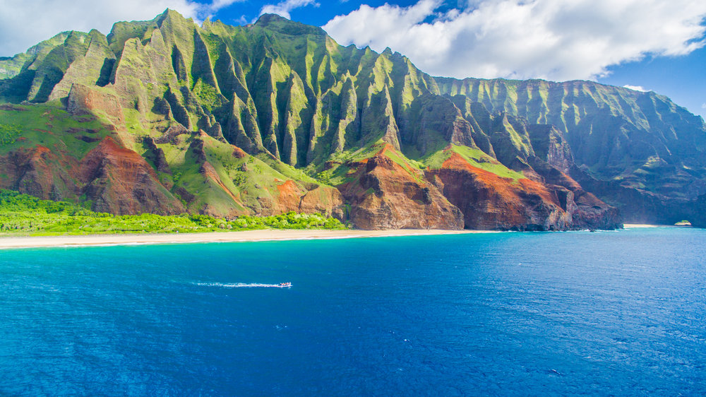 EXPLORE  THE    NA PALI COAST   One of the most beautiful coastlines in the world   BOOK TODAY