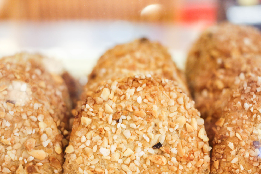 Traditonal cookies of Toledo called Toledanas