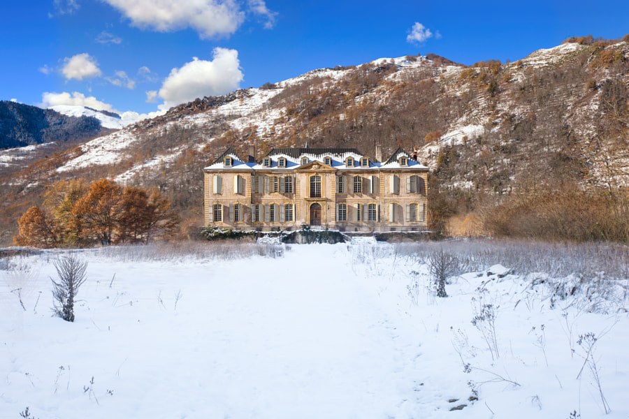 Château in the Snow