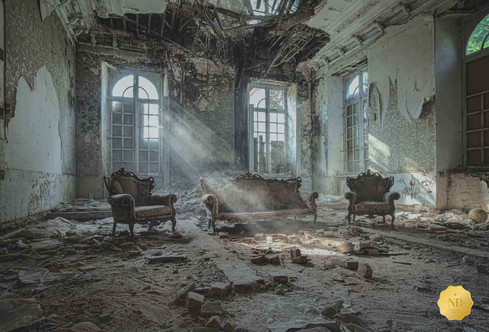 Dilapidated |  ND Awards  1st place - Gold Star Award (Architecture - Interiors category)