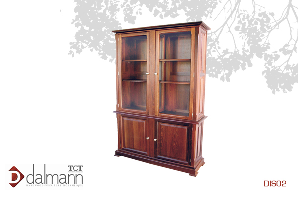 DIS02 - Classico  - Cristaleira/Display Cabinet   Na   Beira  - Mt46,099.99/ c  om TPT  - Mt52,299.99  1270mm (Comp) x 410mm (Larg) x 2000mm (Alt)