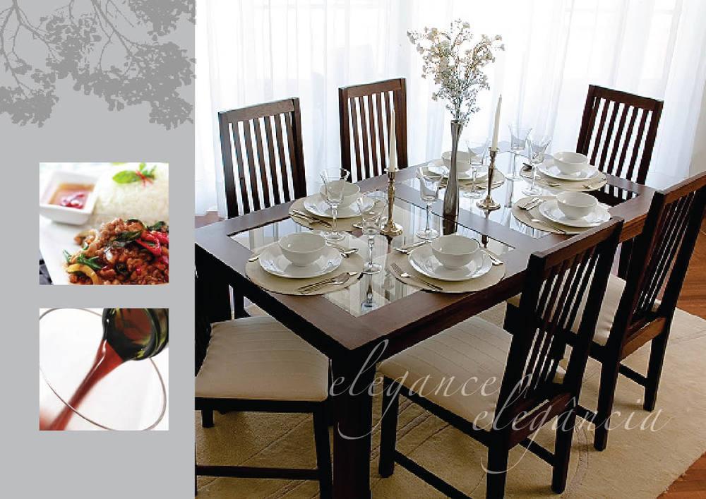 Mesa de Jantar - Sangussi - Dining Table