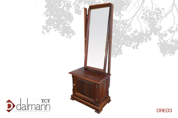 DRE03 - Classico  - Pechiche/Cheval Mirror   Na   Beira  - Mt15,999.99/ c  om TPT  - Mt18,199.99  670mm (Comp) x 410mm (Larg) x 1600mm (Alt)