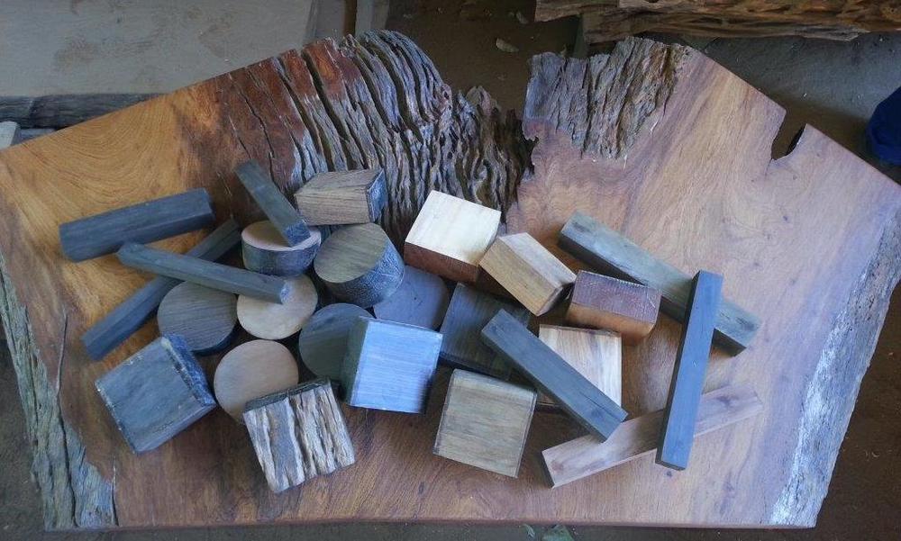 Madeira em bloco e quadrado - Turning blanks