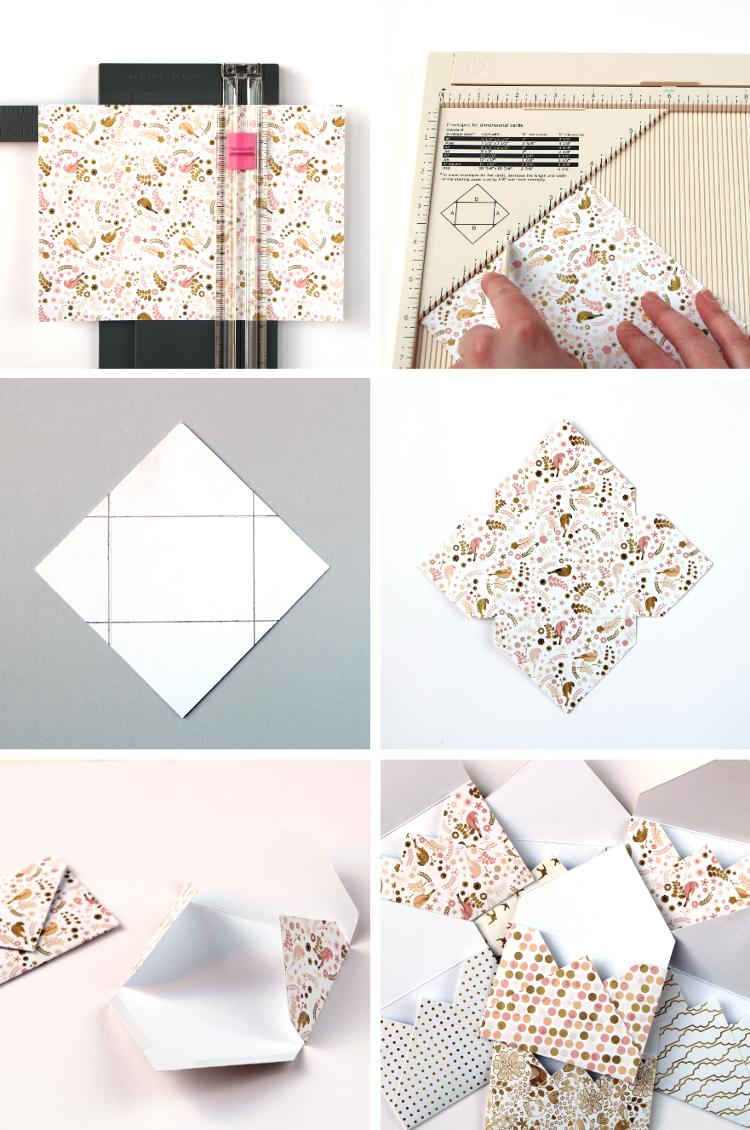 Diy Mini Envelope Album Gathering Beauty