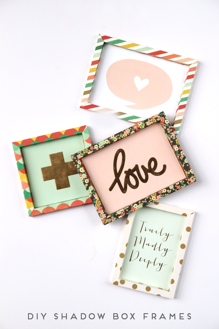 DIY 3D SHADOW BOX PAPER FRAMES. — Gathering Beauty